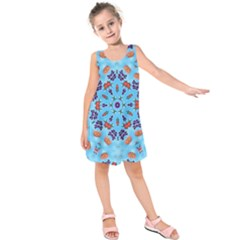 Farbenpracht Kaleidoscope Kids  Sleeveless Dress