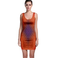 Background Fractals Surreal Design Bodycon Dress by Pakrebo