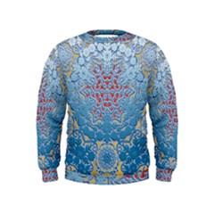 Pattern Background Pattern Kids  Sweatshirt