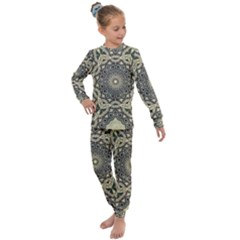 Surreal Design Graphic Pattern Kids  Long Sleeve Set  by Pakrebo
