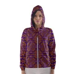 Background Image Decorative Hooded Windbreaker (women) by Pakrebo