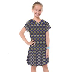 Background Image Decorative Kids  Drop Waist Dress by Pakrebo