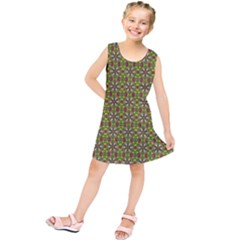 Background Image Pattern Kids  Tunic Dress