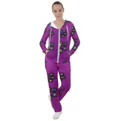 Footprints Paw Animal Track Foot Women s Tracksuit by Desi8477