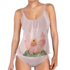 Cactus Flower On Pink Ink Tankini Set by goljakoff