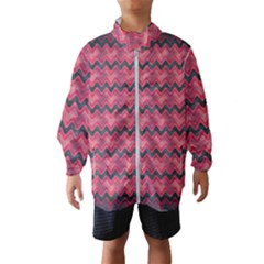Chevron Wave Windbreaker (kids) by AnjaniArt