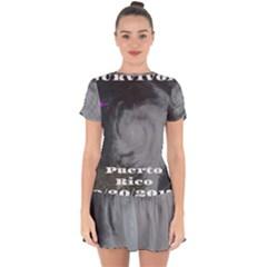 Survivor Drop Hem Mini Chiffon Dress by StarvingArtisan