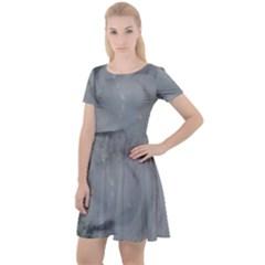 Survivor Cap Sleeve Velour Dress  by StarvingArtisan