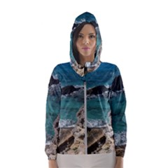 Isla Mujeres Mexico Hooded Windbreaker (women) by StarvingArtisan