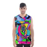The Power Lattice Men s Basketball Tank Top