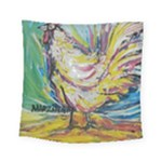 Chook 1  Square Tapestry (Small)