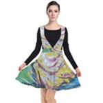 Chook 1  Plunge Pinafore Dress