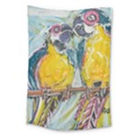 Lovers  by Madzinga Art Large Tapestry