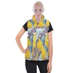 Lovers  by Madzinga Art Women s Button Up Vest