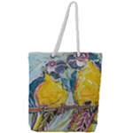 Lovers  by Madzinga Art Full Print Rope Handle Tote (Large)