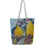 Lovers  by Madzinga Art Full Print Rope Handle Tote (Small)