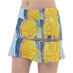 Lovers  by Madzinga Art Tennis Skirt