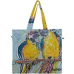 Lovers  by Madzinga Art Canvas Travel Bag
