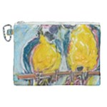 Lovers  by Madzinga Art Canvas Cosmetic Bag (XL)
