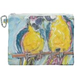 Lovers  by Madzinga Art Canvas Cosmetic Bag (XXL)