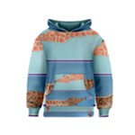 Mother s Love  by Madzinga Art Kids  Pullover Hoodie