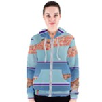 Mother s Love  by Madzinga Art Women s Zipper Hoodie