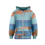 Mother s Love  by Madzinga Art Kids  Zipper Hoodie