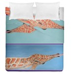 Mother s Love  by Madzinga Art Duvet Cover Double Side (Queen Size)