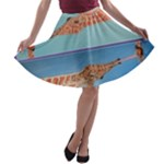 Mother s Love  by Madzinga Art A-line Skater Skirt