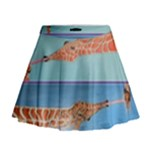 Mother s Love  by Madzinga Art Mini Flare Skirt