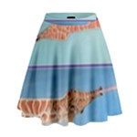 Mother s Love  by Madzinga Art High Waist Skirt