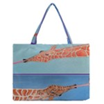 Mother s Love  by Madzinga Art Zipper Medium Tote Bag