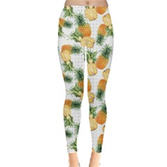 Pineapples Pattern Leggings  by goljakoff