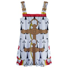 Coat Of Arms Of The Colombian Navy Kids  Layered Skirt Swimsuit by abbeyz71