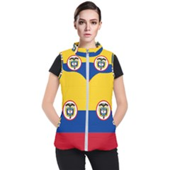 Naval Ensign Of Colombia Women s Puffer Vest by abbeyz71