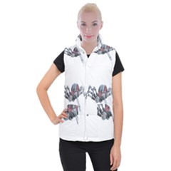 Spider Arachnid Animal Robot Women s Button Up Vest by Wegoenart