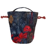 Collection: Acquerello<br>Print Design: Tempesta Papaveri<br>Style: Drawstring Bag