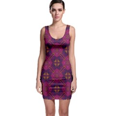 Backdrop Background Cloth Colorful Bodycon Dress by Pakrebo