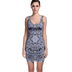 Tile Design Art Mosaic Pattern Bodycon Dress