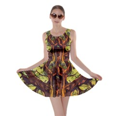 Tree Monster Maestro Landscape Skater Dress