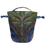 Collection: Acquerello<br>Print Design: Odonata<br>Style: Drawstring Bag