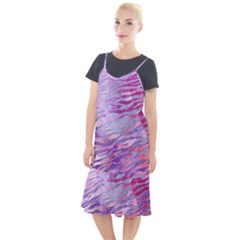 Funny Galaxy Tiger Pattern Camis Fishtail Dress by tarastyle