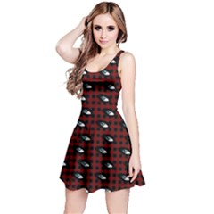 Eyes Red Plaid Reversible Sleeveless Dress by snowwhitegirl
