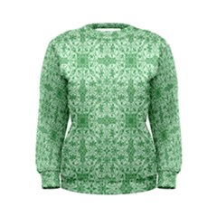 Ornamental Green Women s Sweatshirt by snowwhitegirl