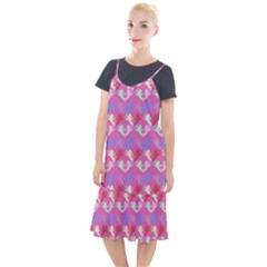 Colorful Cherubs Pink Camis Fishtail Dress by snowwhitegirl