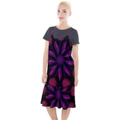Background Purple Black Red Camis Fishtail Dress by Pakrebo