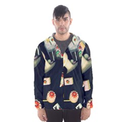Food Hooded Windbreaker (men) by snowwhitegirl