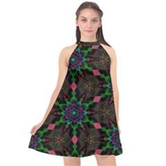 Backgrounds Pattern Wallpaper Color Halter Neckline Chiffon Dress