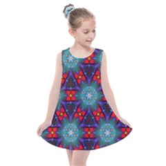 Ornament Colorful Background Color Kids  Summer Dress by Pakrebo