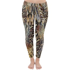 Luxury Animal Print Classic Winter Leggings by tarastyle